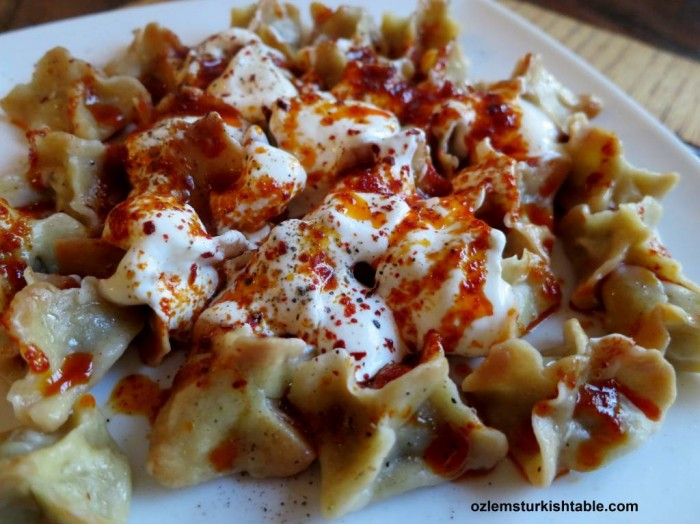 We will learn how to make Manti, Turkish dumplings at our course