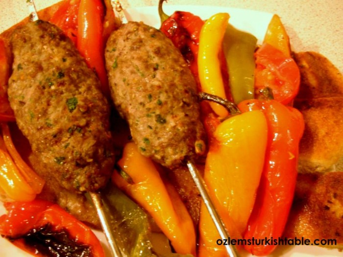 Pistachio and lamb kebabs are at our April 8th Turkich cookery class