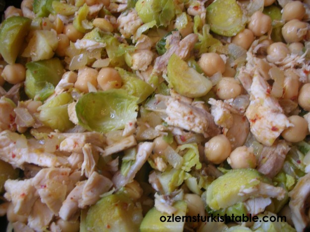 Chickpea Pilaf with Chicken and Vegetables; Turn Your Leftovers into a ...