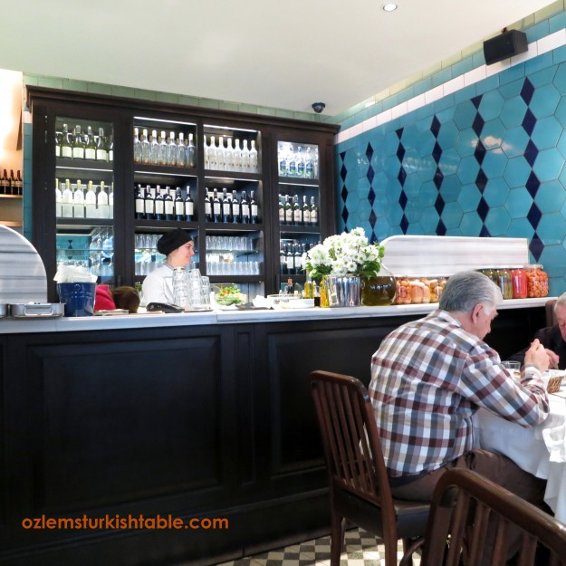 Karakor Lokantasi, Istanbul - a charming restaurant with delicious mezzes.