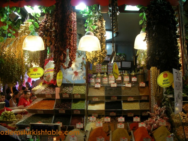 Fragrant, flavorful spices; a must buy at the Spice Market