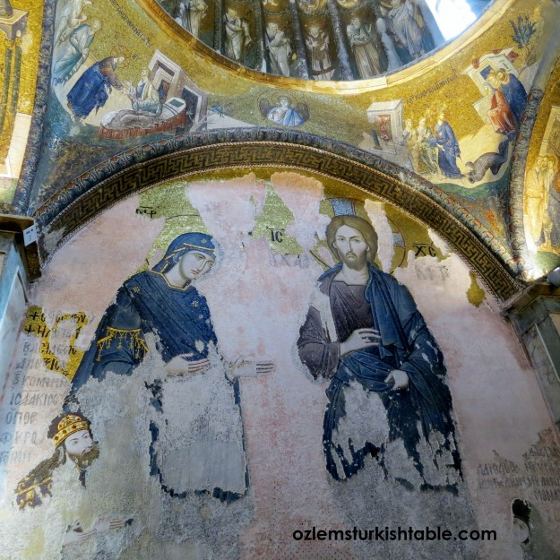 Chora Museum hosts fine examples of mosaics and frescoes