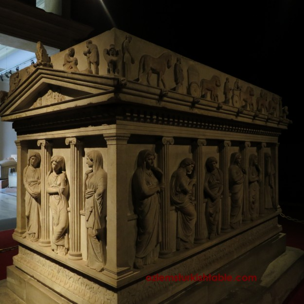 Sarcophagus of Mourning Women - Mid 6th century BC