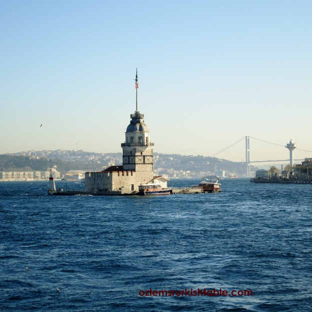 The Maiden Tower, Kiz Kulesi by the Bosphorus, Istanbul