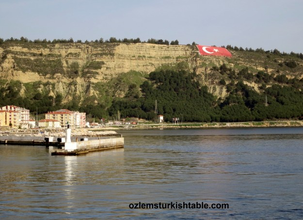Ferry trip from Canakkale to Gallipoli, Gelibolu.