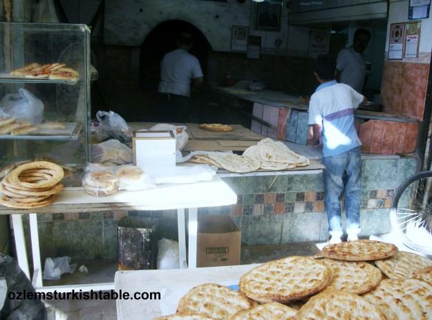 Bakery, Ekmek Firini, at Long Market, Uzun Carsi, Antakya.