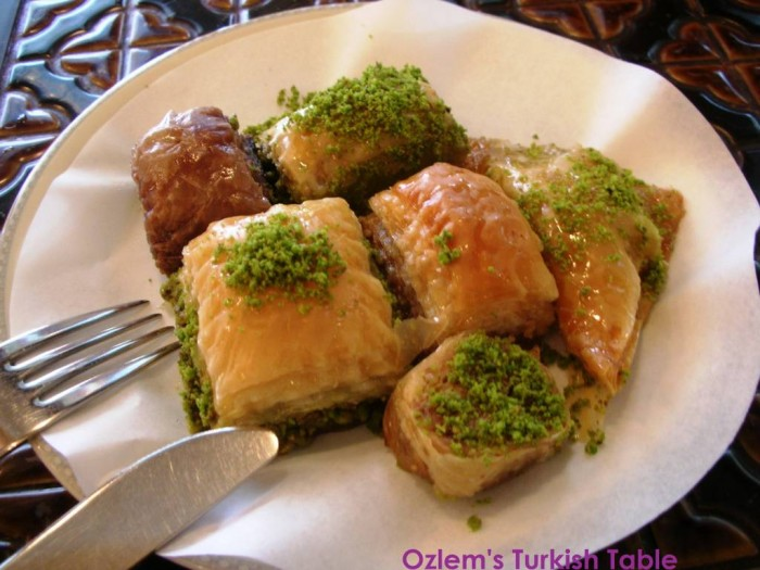 Baklava, is one of the ultimate treats of end of Ramadan gatherings