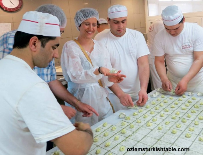 Cooking together with locals - in this case, making baklava, a very memorable experience