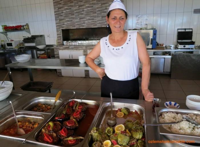 Kevser teyze's freshly prepared casseroles