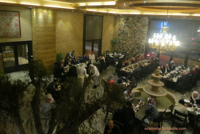 The atmospheric Rajeen Restaurant in Amman with fabulous mezzes