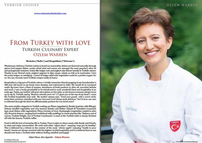 """Turkey with Love"" my article at Live Encounters magazine"