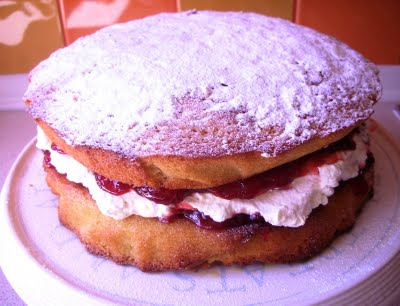 Double Batch Victoria Sponge Cake