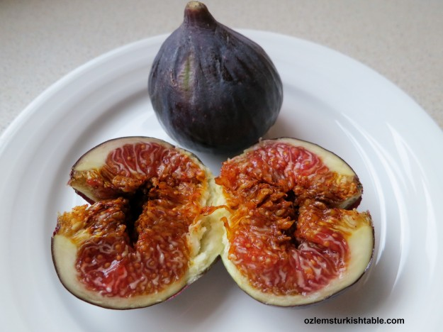Fresh, luscious fresh figs, they are a treat