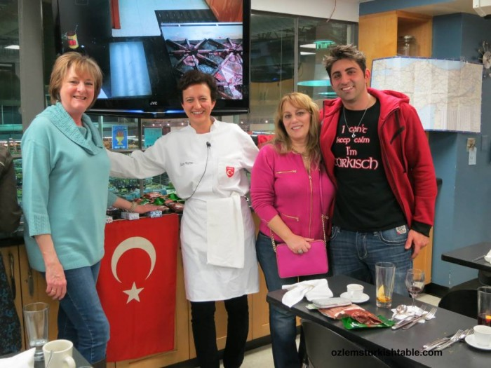 Fantastic, well attended classes in Austin. SA and Houston, delighted to meet Turkish food lovers