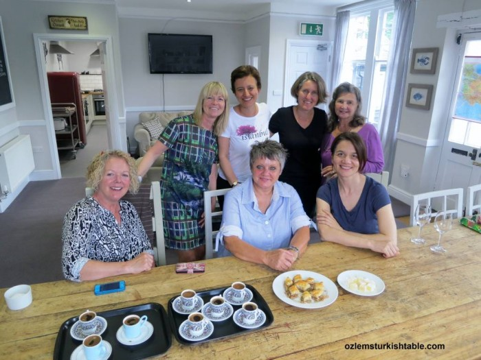 It was a delicious, wonderful and a happy day; many thanks for the amazing Turkish cookery class!""