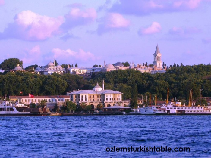 Topkapi Palace by the Bosphorus, Istanbul