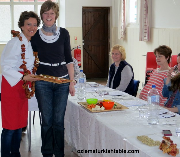 """inspiring Healthy Eating Event, delicious Turkish food in great company, many thanks for a fantastic class!"""