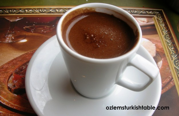 Turkish coffee - Turk kahvesi