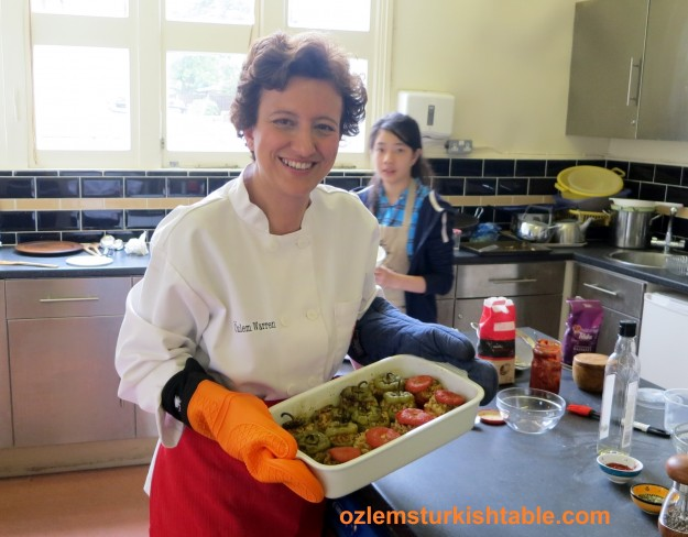 """I can't wait to have a go at the stuffed peppers, dolmas, thanks for all the inspiration and delicious Turkish food"""