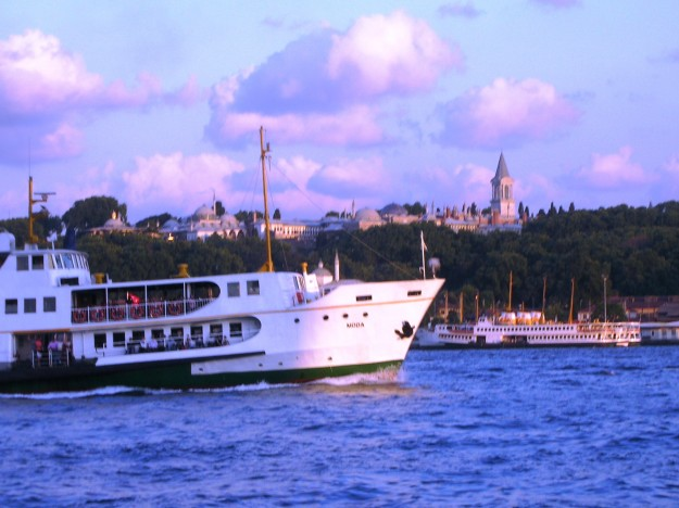 Traveling by the ferry in Istanbul is a very relaxing and hassle free experience.
