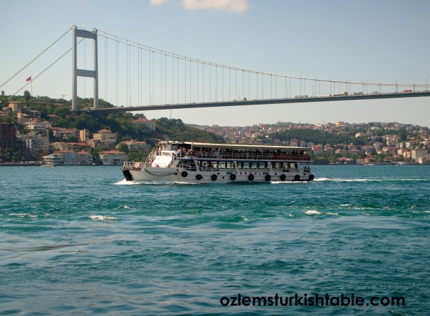 The magnificient Bosphorus, istanbul - make sure to have a boat trip along the Bosphorus Strait