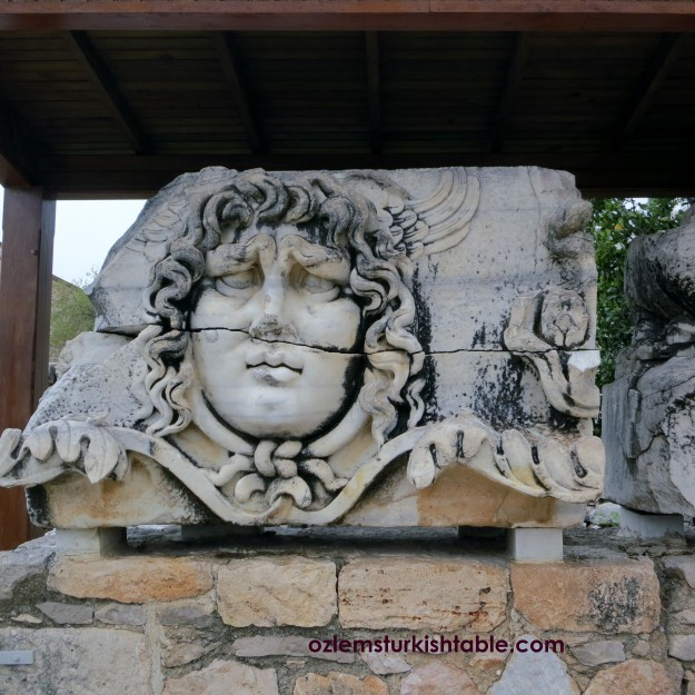 Head of Medusa, Didyma, Turkey