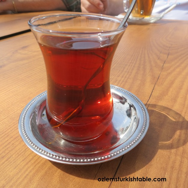 Cay, most probably the most popular Turkish drink