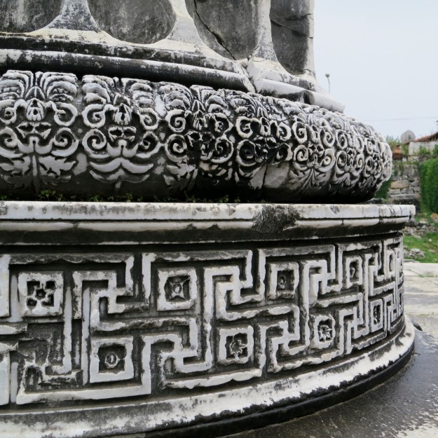 It's all in the details - beautiful carvings at the marbel columns of Didyma.