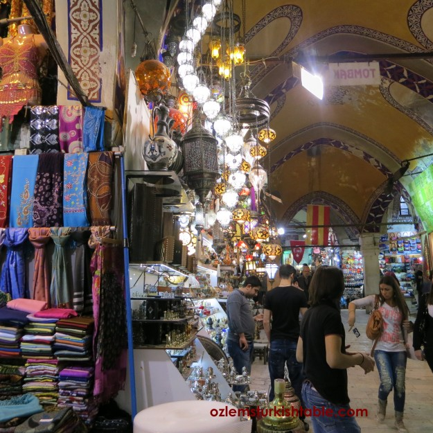 Ancient Grand Bazaar - the building itself and colours are mesmerising