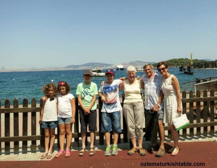 Visiting dear friends at Burgazada
