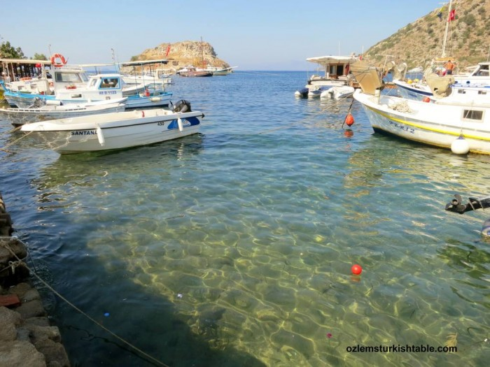 Gumusluk, Bodrum; with beautiful, crystal clear sea