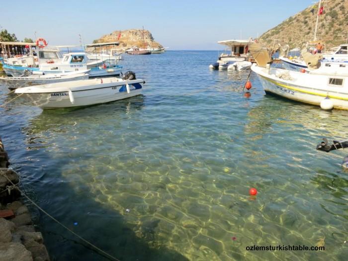 Gumusluk, Bodrum; with beautiful, crystal clear sea