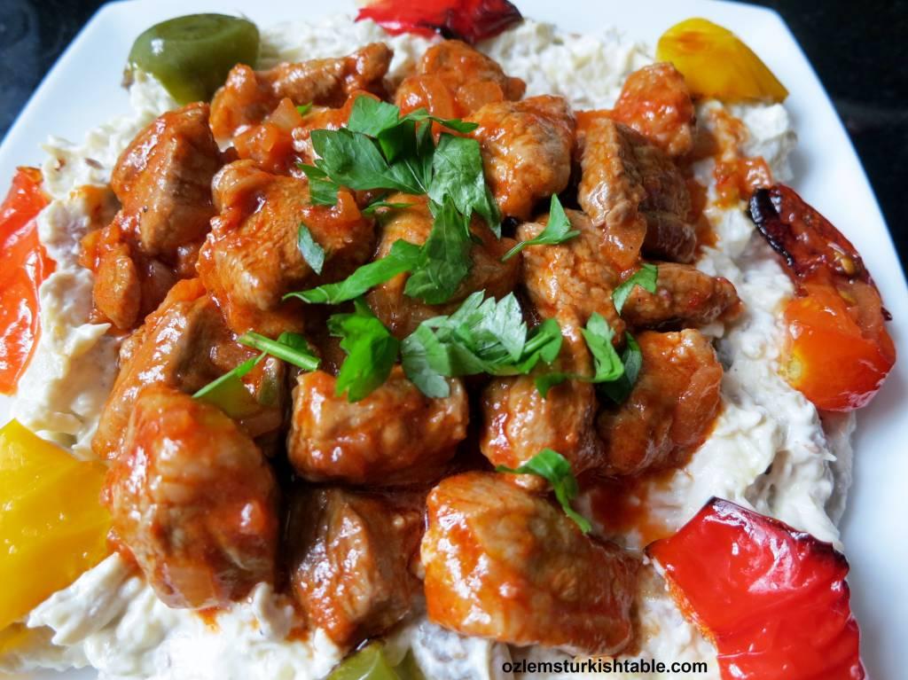 recipe: lamb and aubergine stew [18]