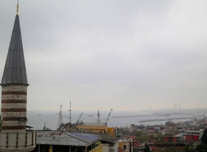 Overlooking Sea of Marmara from Sultanahmet, Istanbul