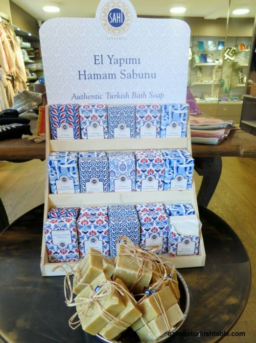 Hand made Turkish olive oil soap
