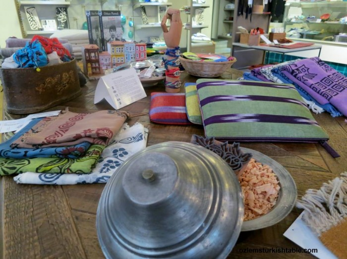 Locally sourced, authentic Turkish textile, ceramics and many more at Sahi Istanbul
