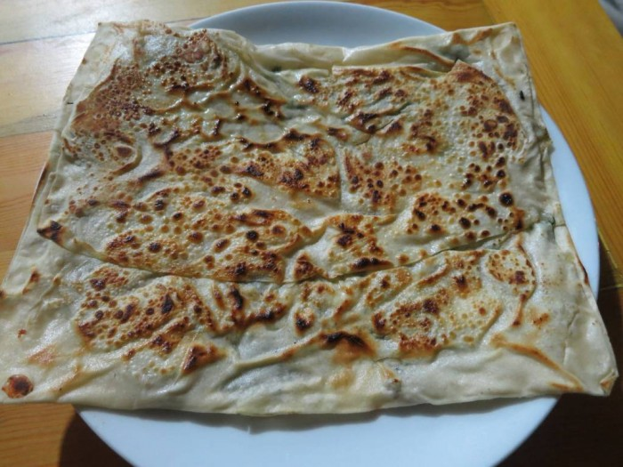 Gozleme; Anatolian flat breads with fillings