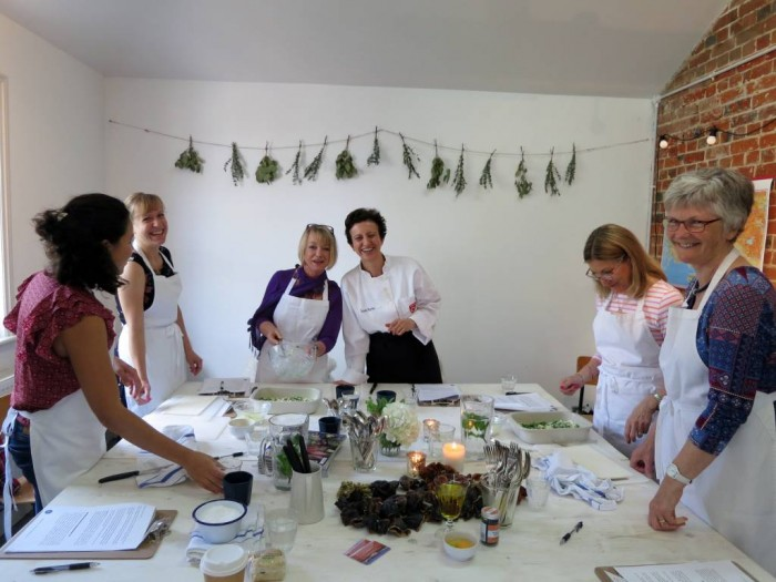 Our Turkish Cookery Workshop at the Medicine Garden, Cobham - Surrey