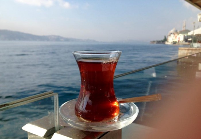 Glass of Cay by the Bosphorus, heavenly