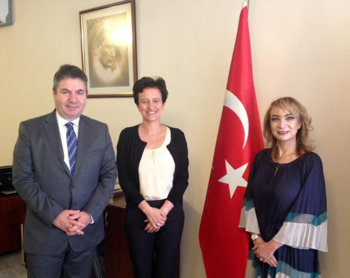 Our visit to the Turkish Embassy in Amman